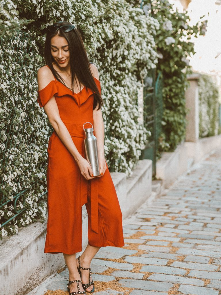Red Jumpsuit